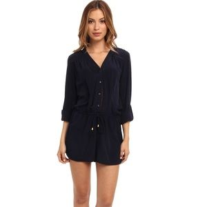 Sam Edelman dark navy blue romper